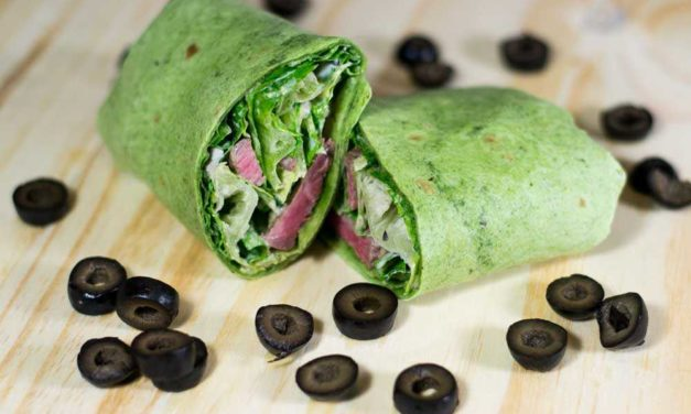 Steak Caesar Wrap