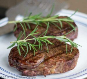 Amazing grilled steak fillets.