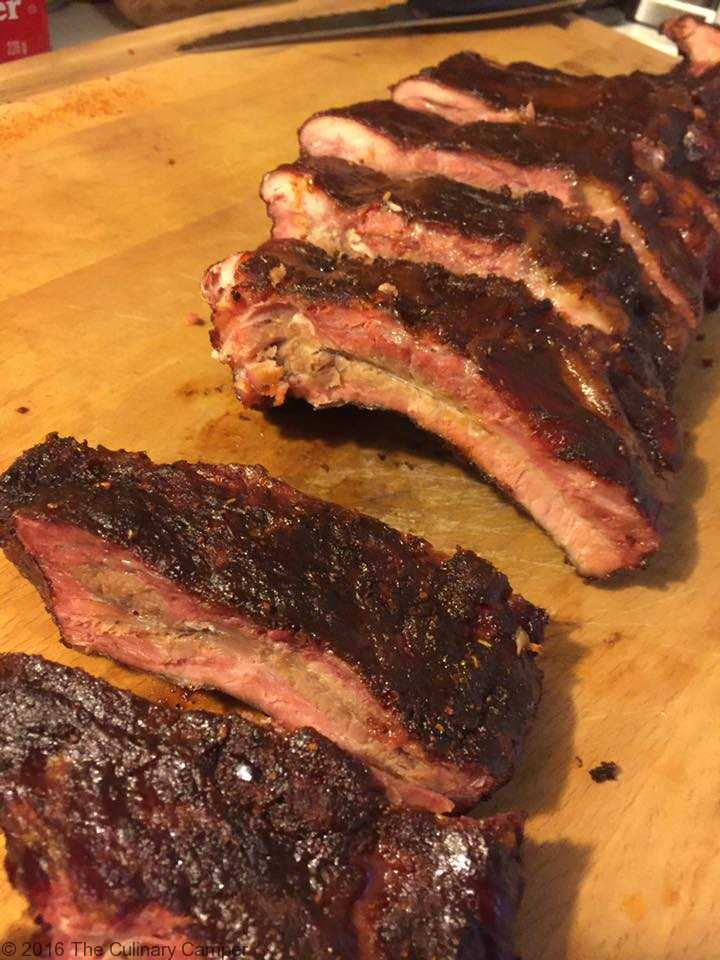 Smoked Baby Back Ribs Damn Fine Dishes