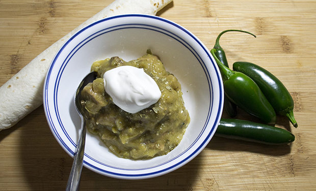 Chili Verde With Smoked Pork