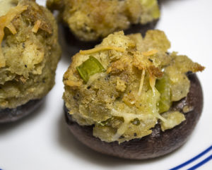Deliciously Baked Simple Stuffed Mushrooms