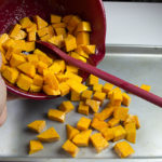 Simple roasted squash is quick, easy, and delicious.