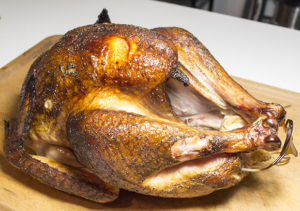 A Smoked Turkey Recipe for Thanksgiving.