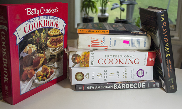 My top 5 favorite cookbooks.